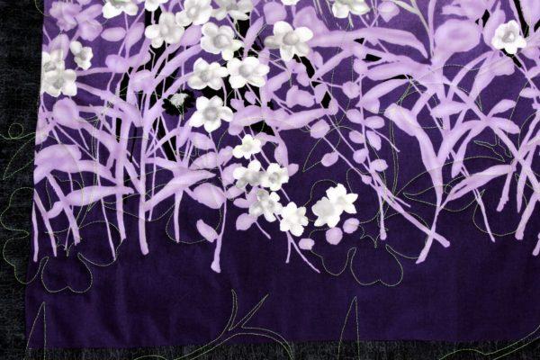 Japanese Garden Throw