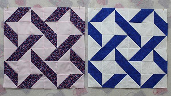 Ribbon Quilt Block