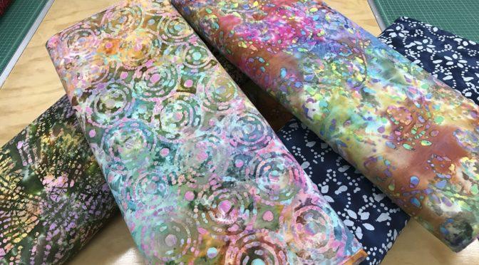 Lots of Beautiful New Fabric!