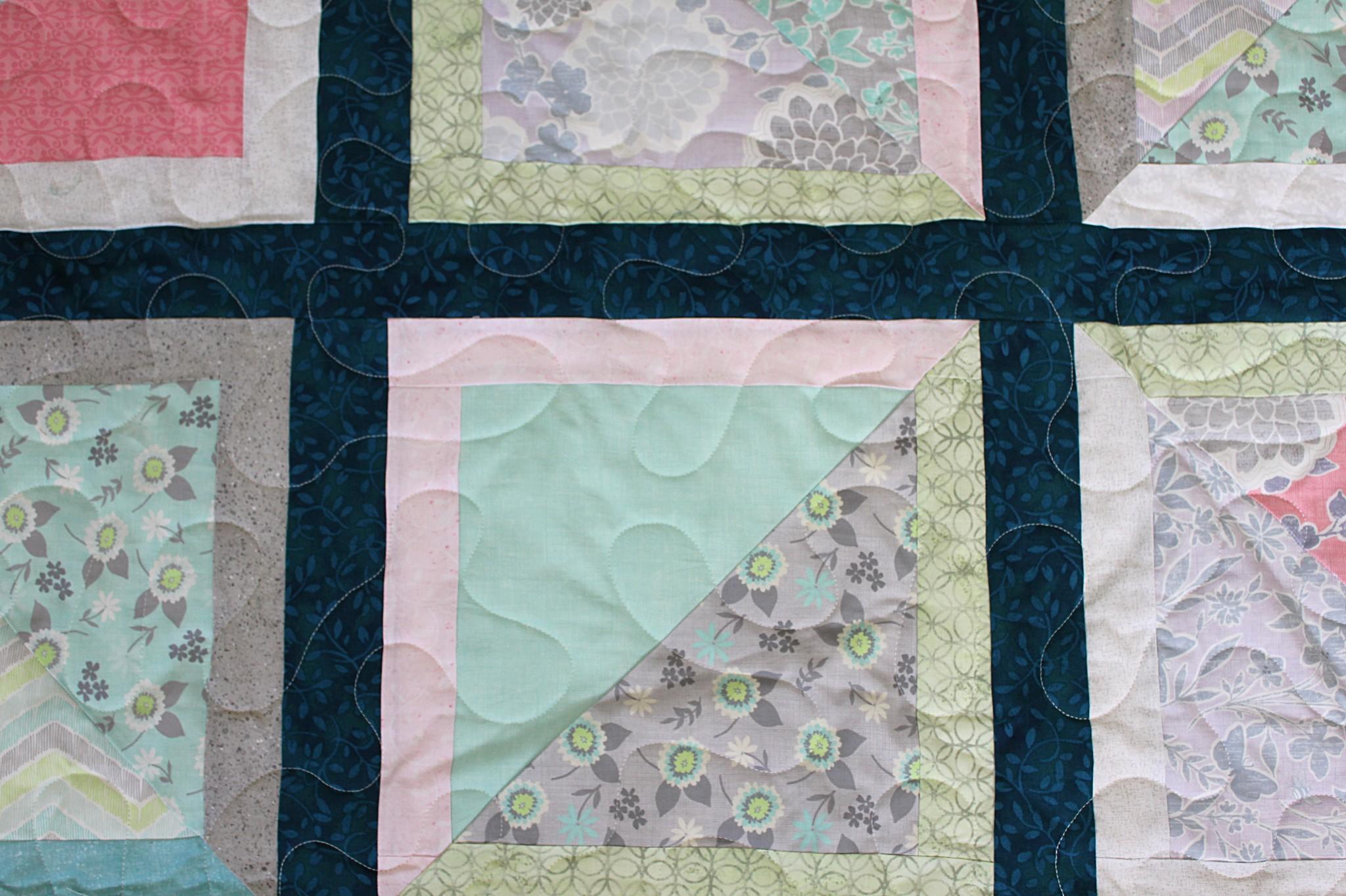 Pastel Squares Quilt