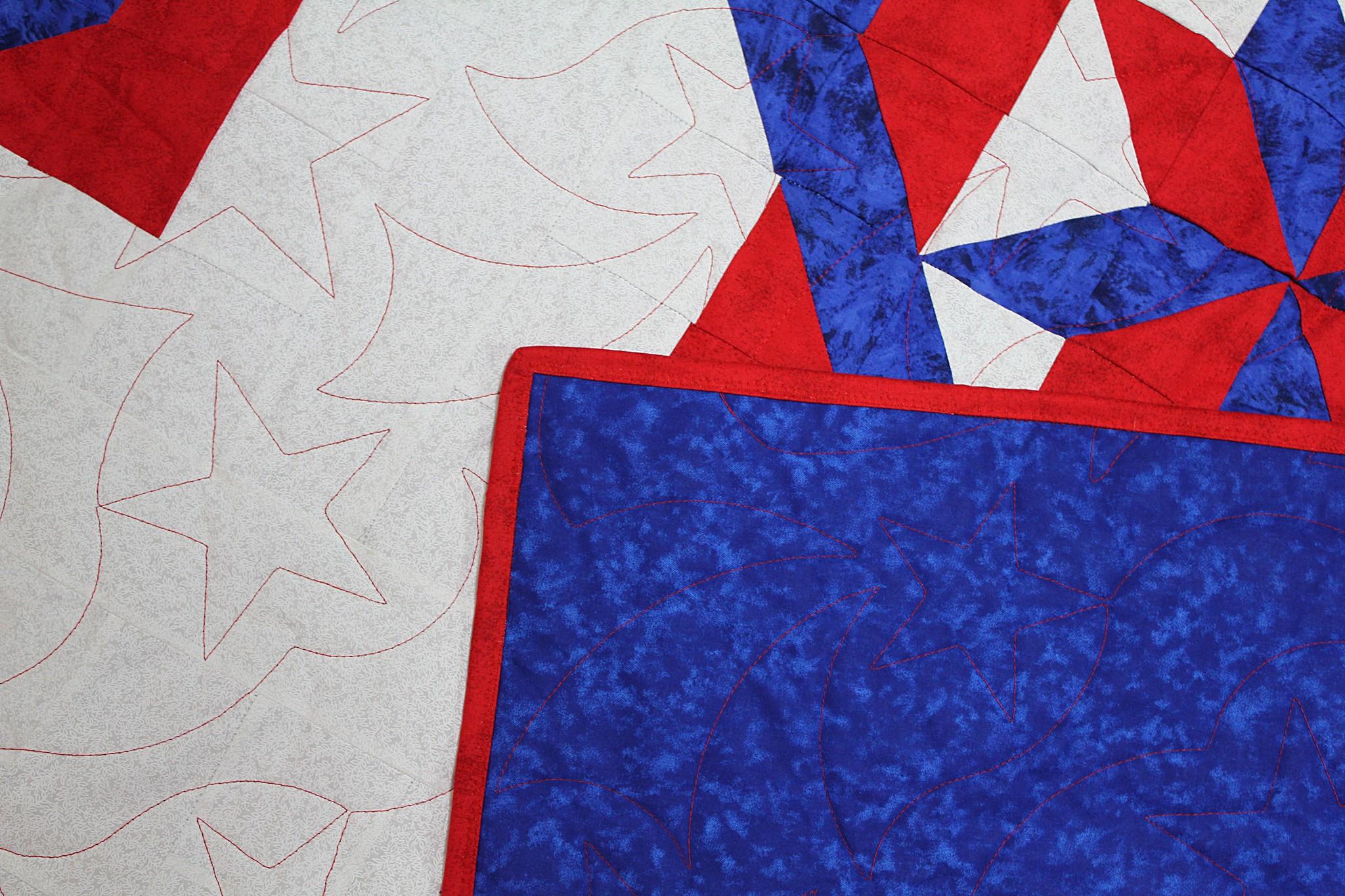 Josh's Stars & Squares Quilt