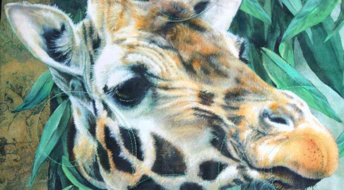 Giraffe Quilt!