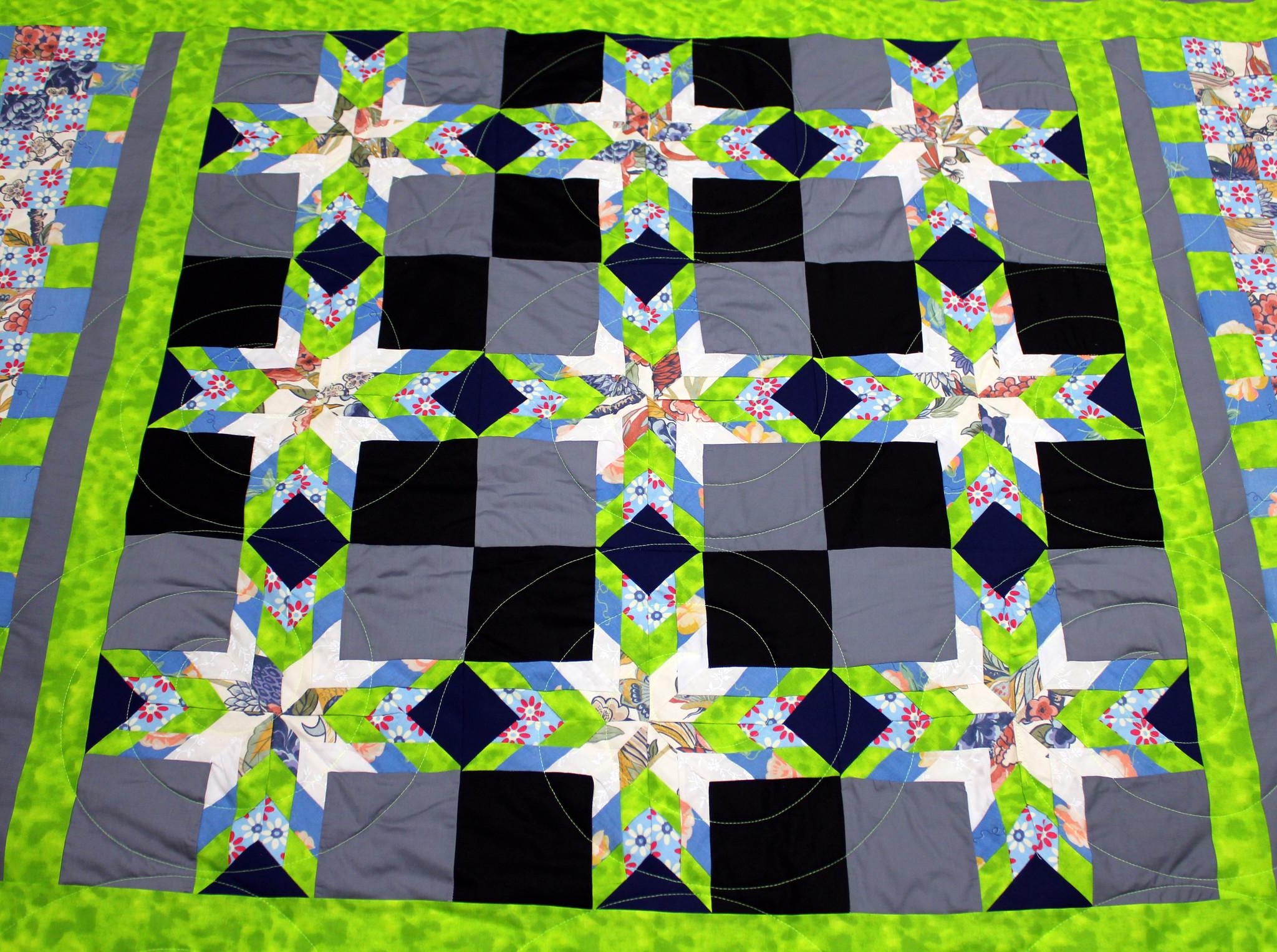 8 Point Star Quilt
