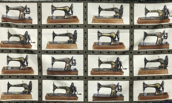 Classic Sewing Machine Panel