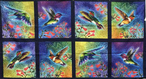 HD Hummingbird Panel