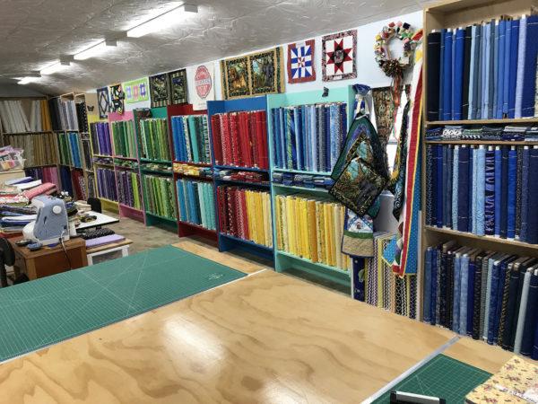 Inside Lady Bird Quilts