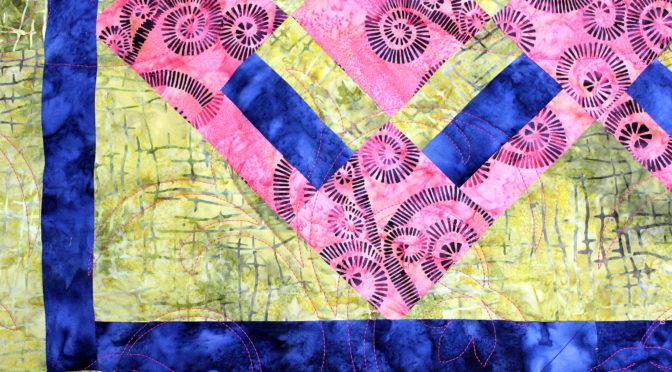 Pink & Blue Together Quilt!