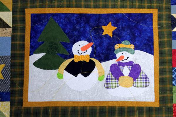 Christmas Appliqué Quilt
