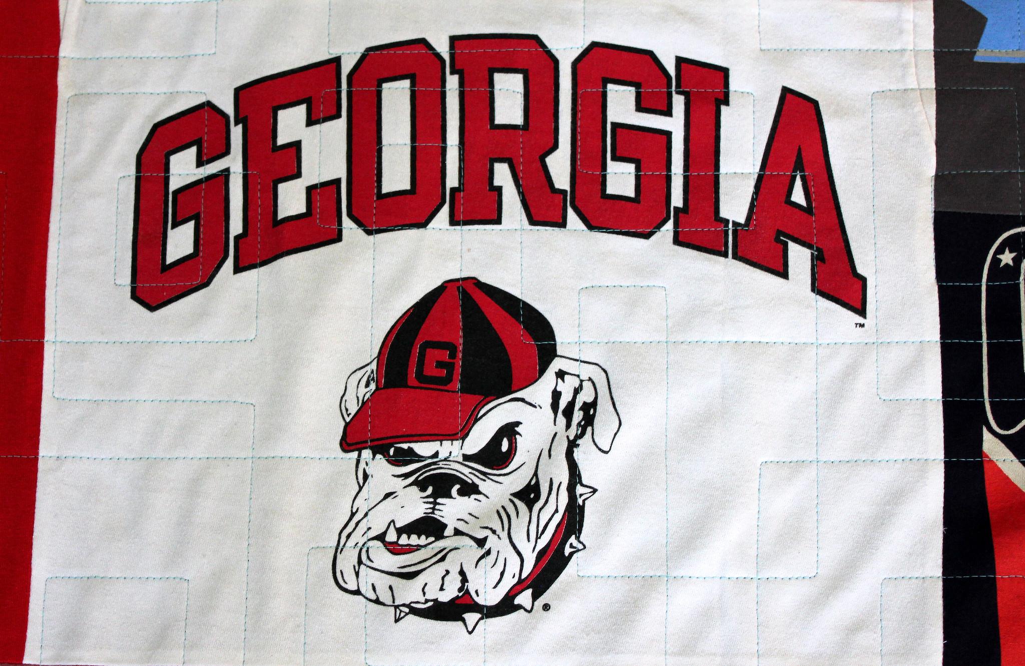 No Sash Georgia T-Shirt Quilt