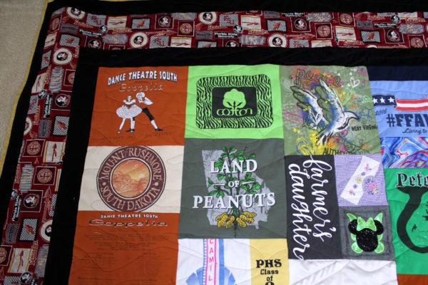 FSU T-Shirt Quilt