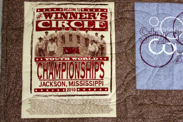 Paige's T-Shirt Quilt