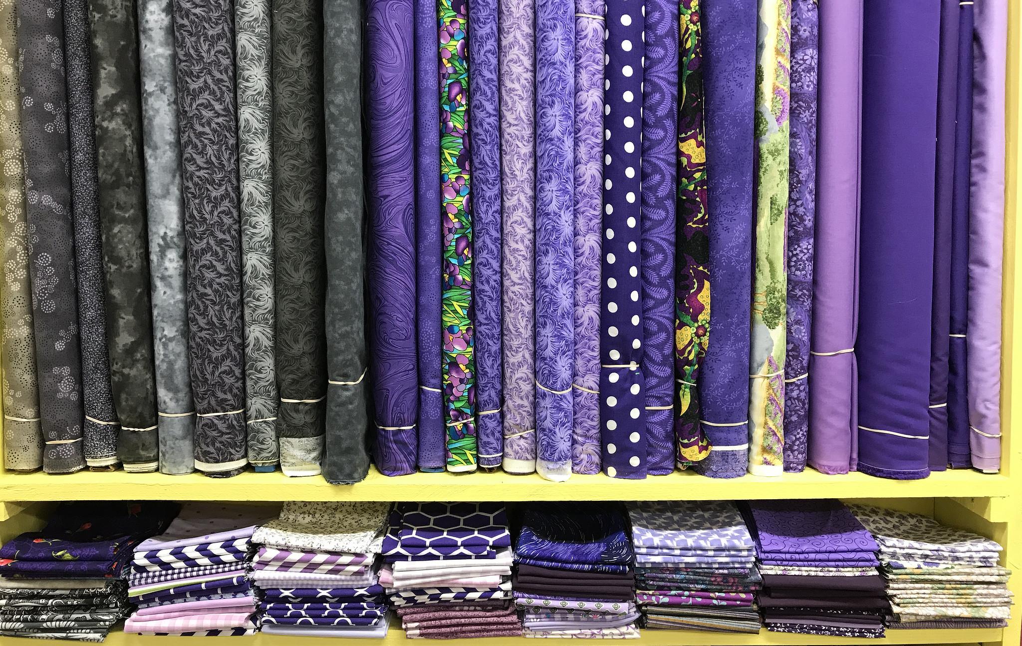 Purple Cotton Prints