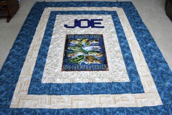 Joe's Fishing Quilt