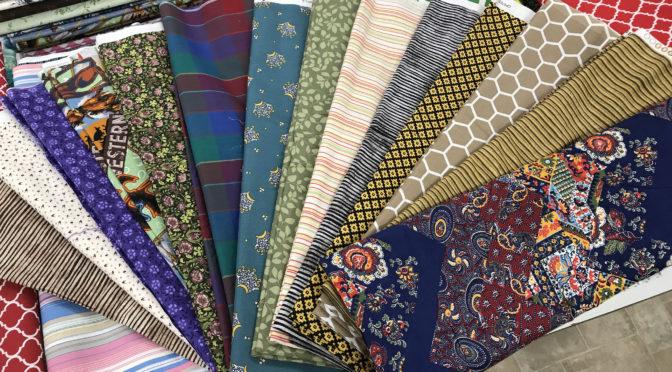 Flat Fold Sale Fabric