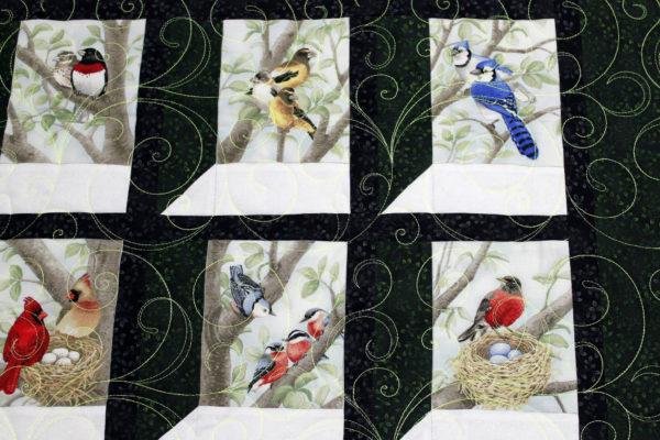 Denise's Birds is Window Wall Hanging