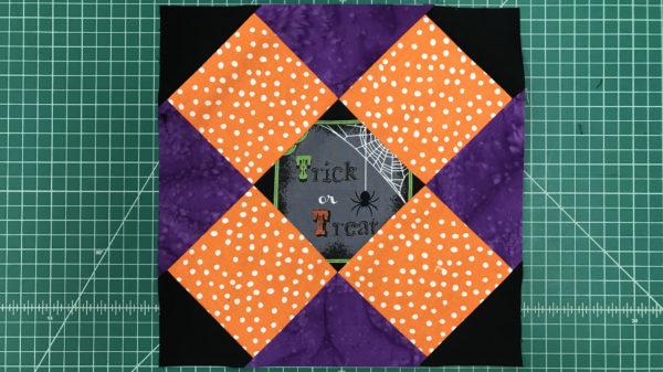 Double Cross Quilt Block