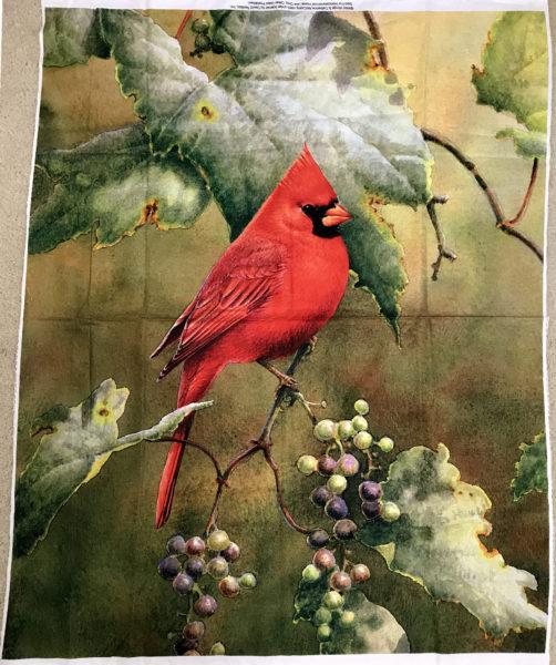 Red Cardinal Panel