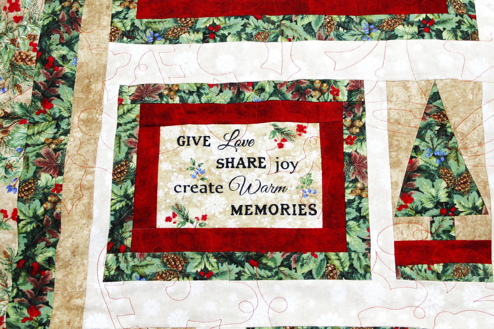 Ann's Christmas Card Quilt