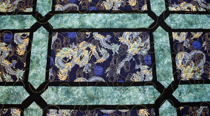 Katherine's Oriental Dragons Quilt!