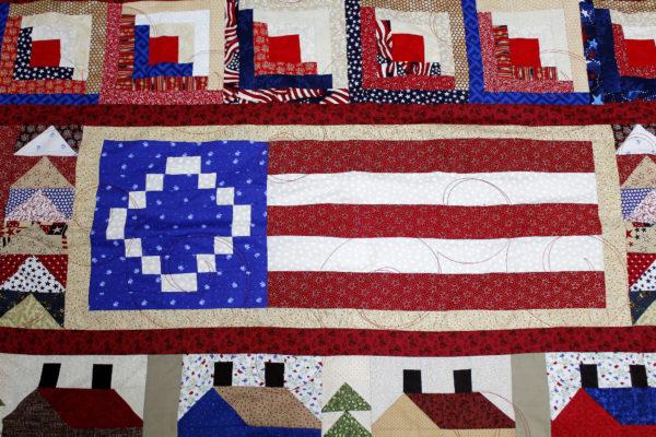 Sue's Patriotic Sampler Quilt