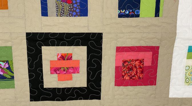 Diane's Tula Pink Modern Sampler Quilt!