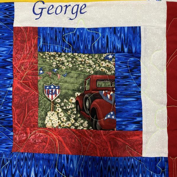 George by Iris Melvin