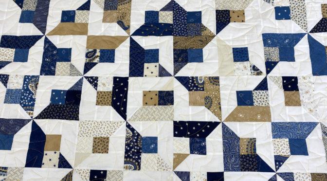 Abigail's Blue & Gold Quilt