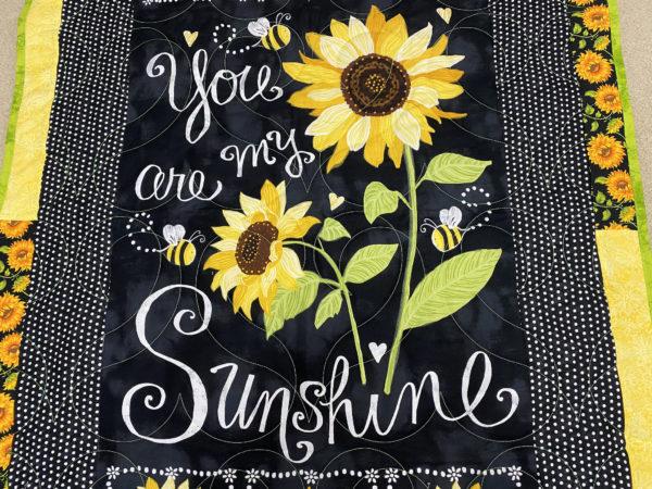 Marcia's Sunshine Throw