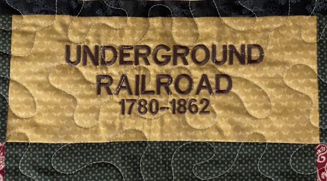 Sue's Underground Railroad Quilt