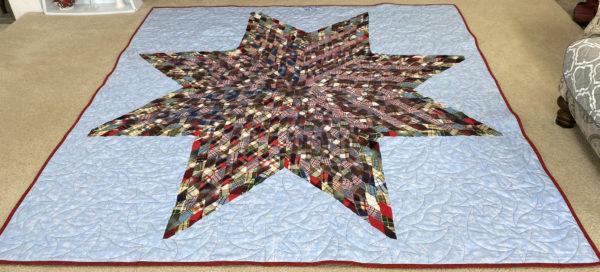 Joleata's Flannel Star Quilt