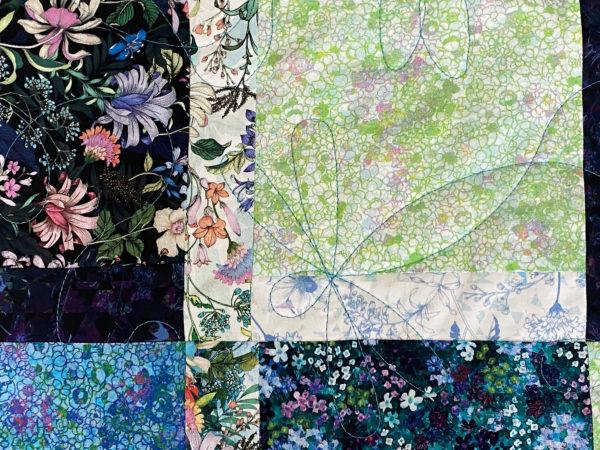 Melanie's Flowers & Paisley Quilt