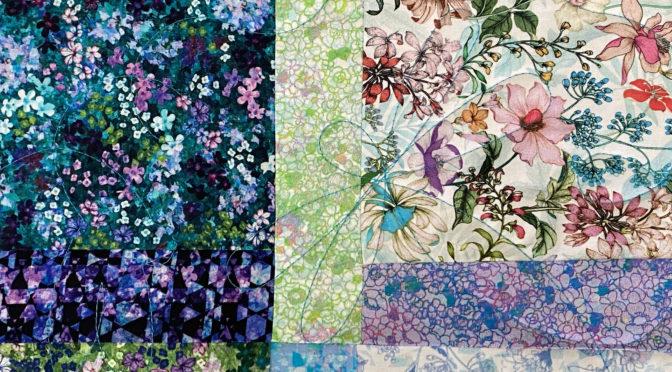 Melanie's Flowers & Paisley Quilt!