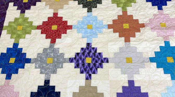 Patti's Southwest Cross Quilt!