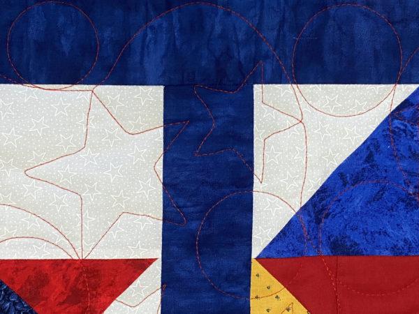 Terry's Patriotic Squares Quilt