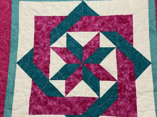 Jill's Labyrinth Block Quilt