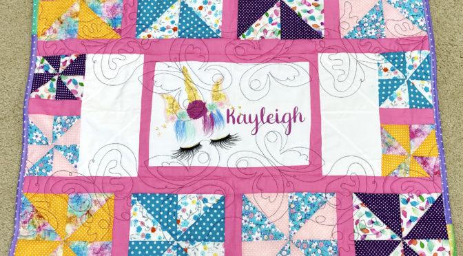 Pretty~n~Pink Pinwheel Quilt by Lywanda!