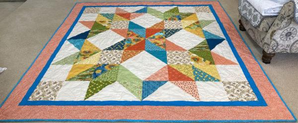 Carpenter's Star Quilt by Melanie