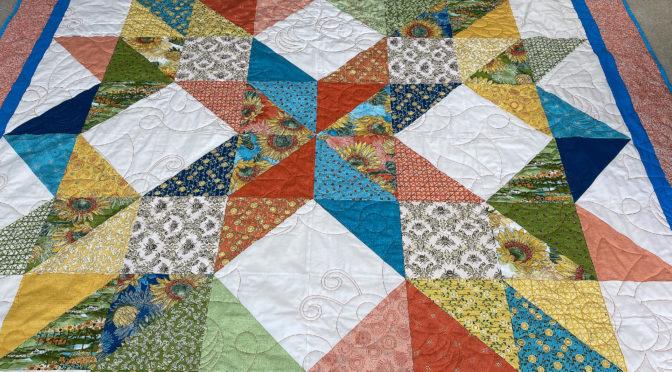 Carpenter's Star Quilt by Melanie!