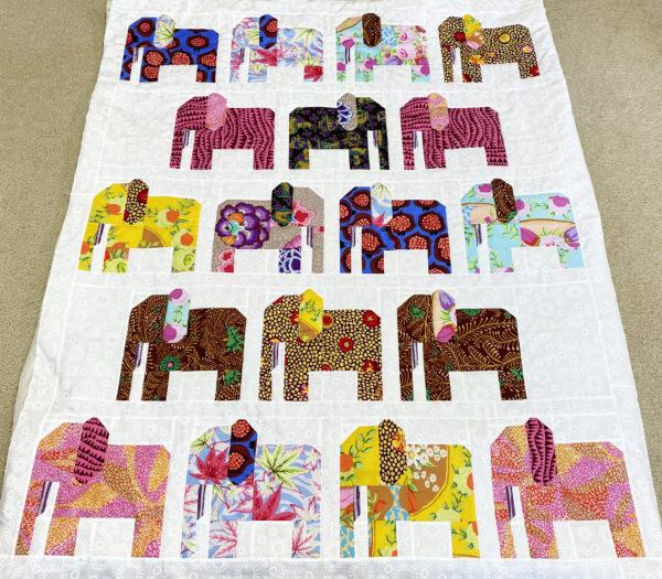 Charlotte's Elephant Quilt
