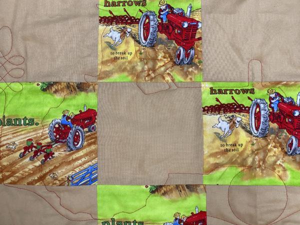 Sandy's Tractor Mac Quilt